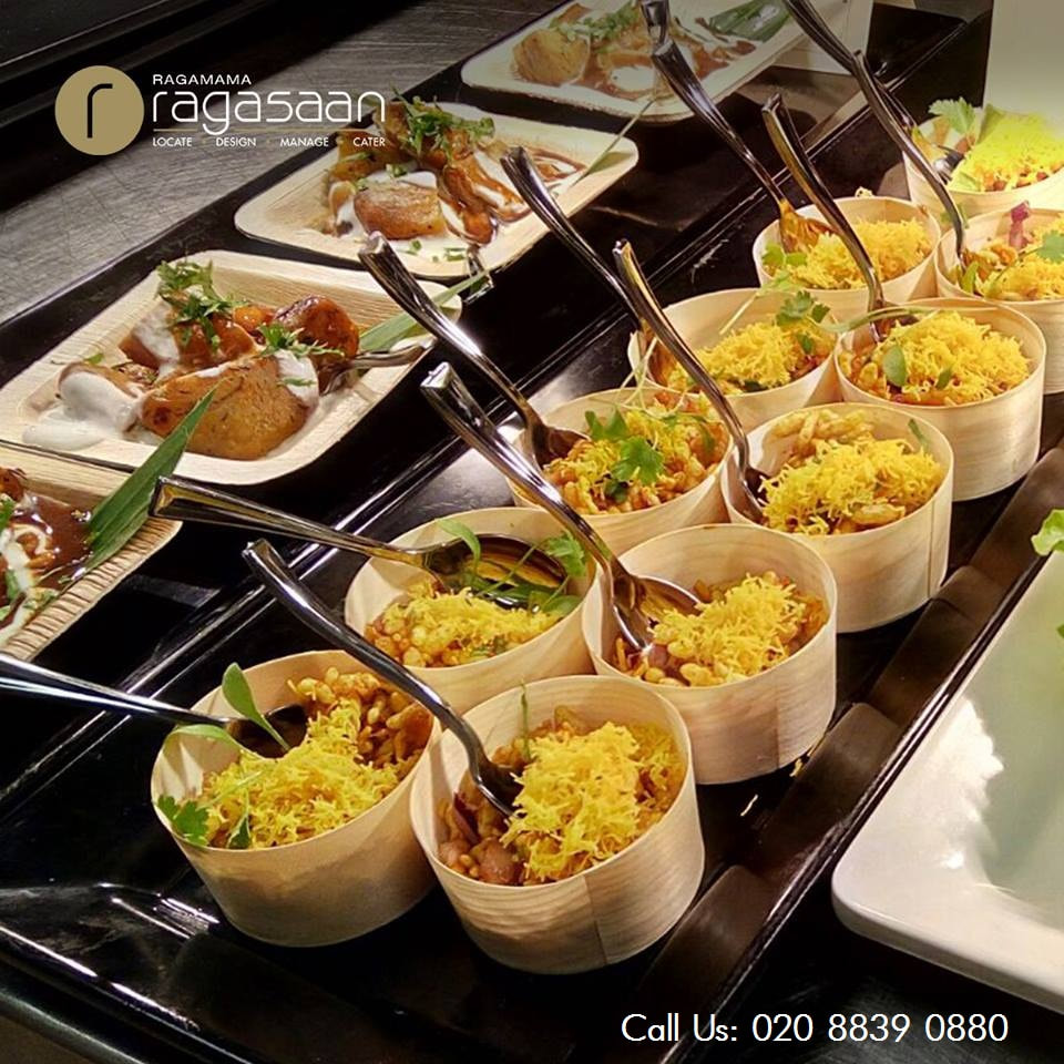 Ragamama ragasaan indian wedding caterers and event for Canape catering london
